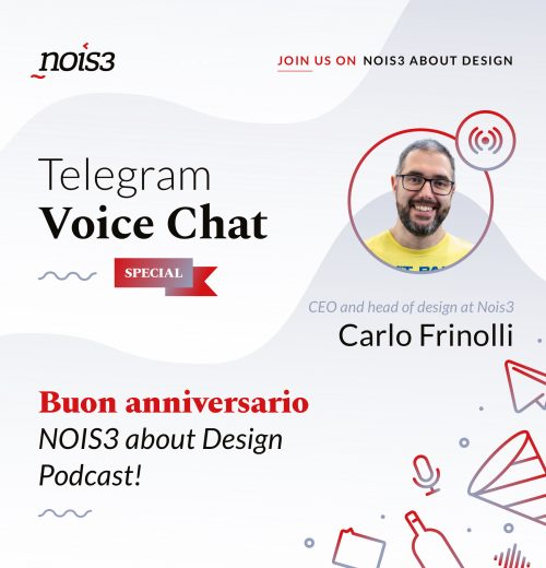 Special TVC - Buon anniversario NOIS3 about Design!